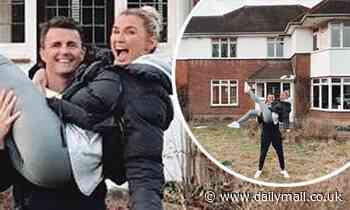 Billie Faiers and husband Greg Shepherd 'finally' start work on their £1.4m Essex home