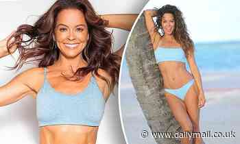 Brooke Burke shares the workout she does every day to stay in shape