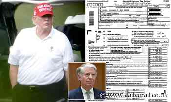 Donald Trump's tax returns: Manhattan district attorney given 'millions of pages'