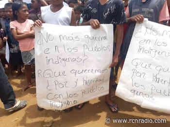 Entregarán ayudas a 4.700 indígenas confinados y desplazados en el Alto Baudó - RCN Radio