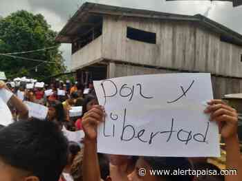 Indígenas confinados en Alto Baudó, Chocó no han salido de sus resguardos a buscar alimentos por temor - Alerta Paisa