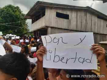 Hay escasez de alimentos entre los confinados y desplazados en el Alto Baudó, Chocó - RCN Radio