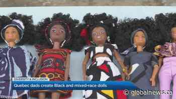 Quebec dads tackle lack of diversity in toys with Black and mixed-race dolls