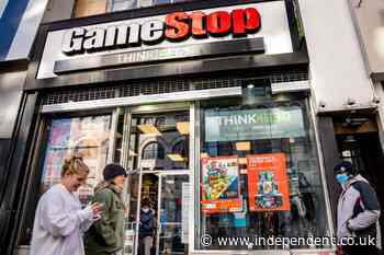 GameStop trading repeatedly halted after shares surge again