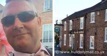 Pub landlord 'used dog cage to pin down rape victim' - trial