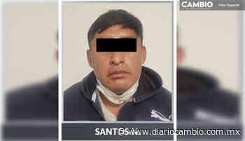 ¡Depravado! Detienen a violador de una niña en Zinacatepec - Diario Cambio