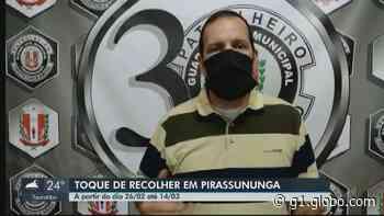 Pirassununga publica decreto que endurece quarentena e suspende aulas presenciais - G1