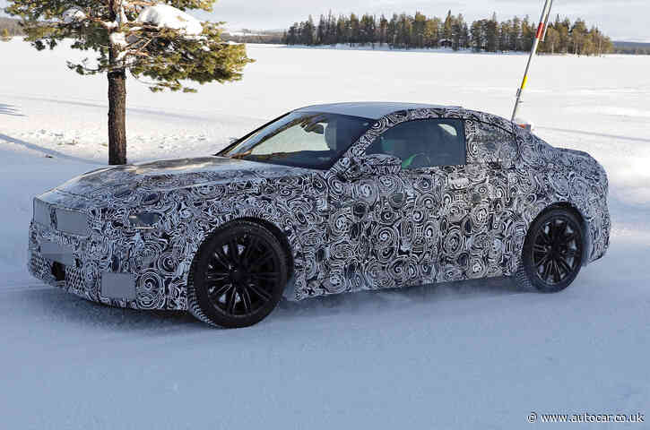 New 2022 BMW M2 coupé spotted for the first time