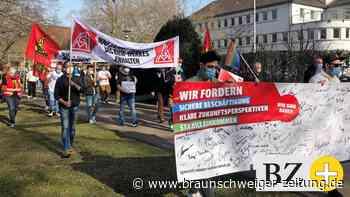 """""""BHW muss bleiben!"""" – BHW-Mitarbeiter kämpfen für ihr Werk"""