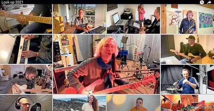 """""""Look up"""" statt Lockdown:  Heidelberger Musiker entwickelnzusammen online einen Song (plus Video)"""