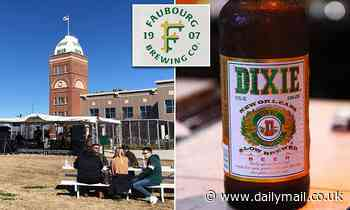 New Orleans' last brewery removes 114-year-old 'Dixie Beer' name from its famous tower
