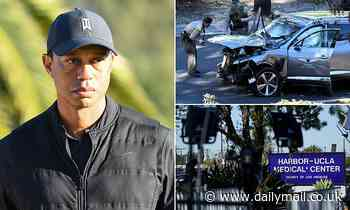 Tiger Woods car crash: Family 'fear he'll become addicted to painkillers'
