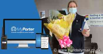 Brough firm rolls out new award honouring NHS hospital porters