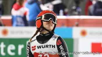 WM Ski nordisch: Deutsche Skispringerinnen zum Auftakt schwach - Klinec siegt