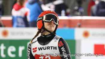 """WM Ski nordisch: Deutsche Skispringerinnen zum Auftakt schwach: """"Debakel"""""""