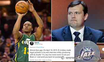 Ex-Jazz player Elijah Millsap accuses team VP Dennis Lindsey of racism, but exec issues denial