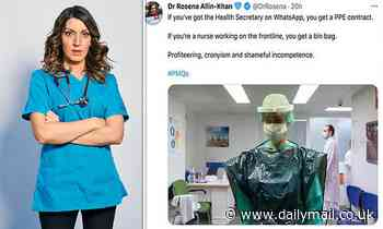 Labour's Rosena Allin-Khan sparks fury with 'fake tweet' featuring Spanish nurse in Hancock attack