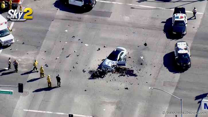 Los Angeles County Sheriff's Motor Deputy Killed In Lakewood Crash