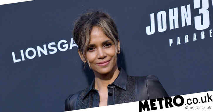 Halle Berry drinks wine naked in bed as she prepares to star in Netflix thriller The Mothership