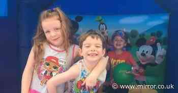 Twin, 7, who had sore throat given weeks to live as family's life 'torn apart'