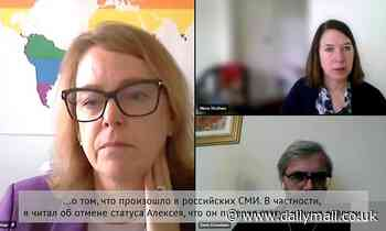 Amnesty International chiefs admit 'undermining' Alexei Navalny in prank Zoom call