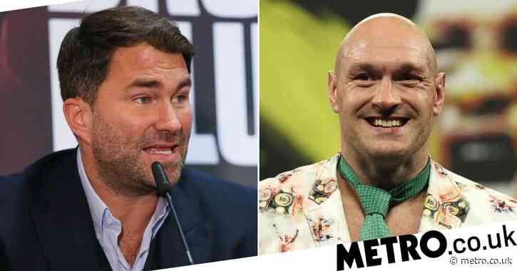 Eddie Hearn rubbishes Tyson Fury comments and says Anthony Joshua fight is happening