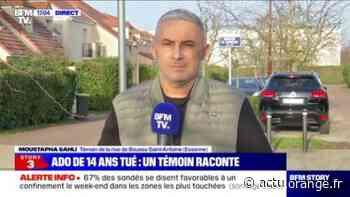 """Essonne: pour ce témoin de la rixe de Boussy-Saint-Antoine, envoyer 100 policiers de plus dans le département """"n'est pas la réponse qu'il faut"""" - Actu Orange"""