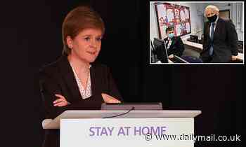 Covid Scotland: Nicola Sturgeon snipes at Boris Johnson strategy