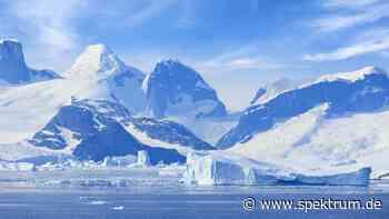 Weniger Gletschereis, höhere Meeresspiegel während letzter Eiszeit - Spektrum.de