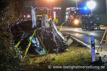 Vorfahrt missachtet: Verkehrsunfall bei Tamm fordert Todesopfer - Ludwigsburg - Bietigheimer Zeitung
