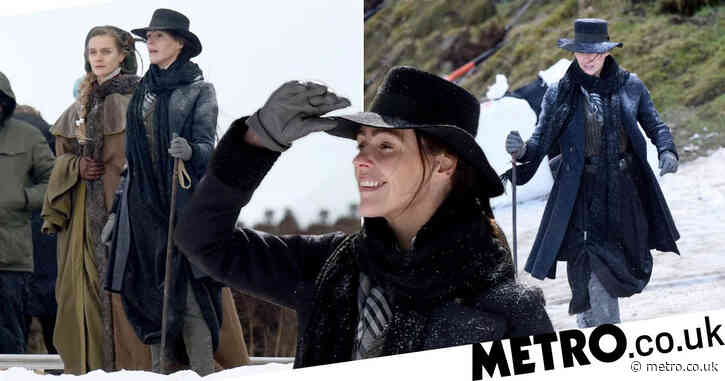 Suranne Jones films Gentleman Jack in the snow as series two steps up production