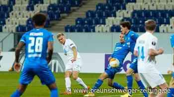 Europa League: Schwache Hoffenheimer verpassen Achtelfinale