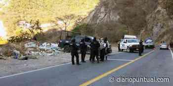Dos jóvenes fueron ejecutados en la carretera Chilpancingo-Tixtla - Diario Puntual