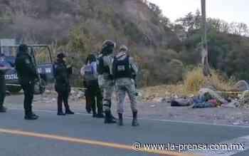 Localizan dos hombres muertos y maniatados en Tixtla, Chilpancingo - La Prensa