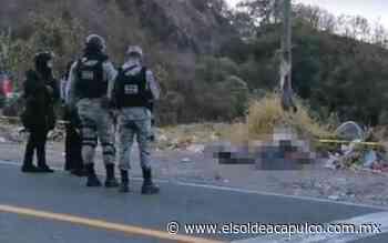 Localizan dos cuerpos sin vida en el viejo libramiento a Tixtla, en Chilpancingo - El Sol de Acapulco