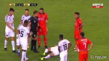 ¡Encendió las alarmas! Osio quedó tendido en el campo de juego tras choque con Frank Ysique - RPP Noticias
