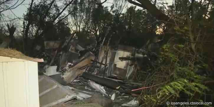 3 Homes Destroyed When Wind-Whipped Fire Rips Through Bloomington Neighborhood