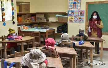 Bajas temperaturas no obstaculizan el aprendizaje de niños en Machacamarca - Periódico La Patria (Oruro - Bolivia)