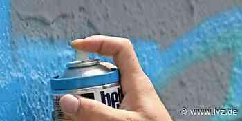 Graffiti-Sprayer in Brandis dank eines Zeugen von Polizei gestellt - Leipziger Volkszeitung