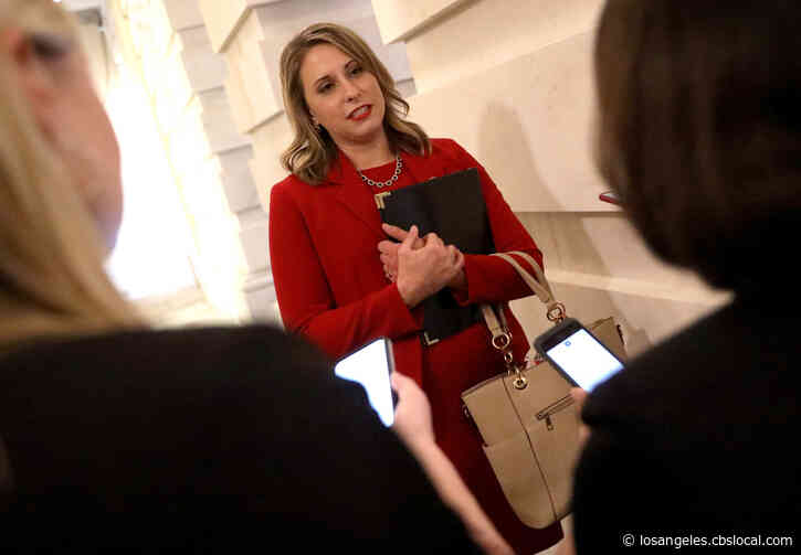 Former Rep. Katie Hill, Ex-Husband Inch Closer To Settling Temporary Restraining Order