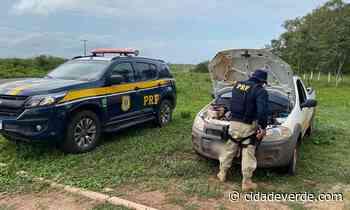 PRF recupera veículo na BR 343 e prende homem por Receptação - Parnaiba - Cidadeverde.com