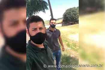 Vereador Sandro e secretário Amarildo visitam áreas de lazer do Pinhalzinho e Jardim Branyl - Jornal O Semanário