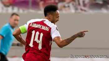 Aubameyang helps author impressive Arsenal comeback v Benfica (video)