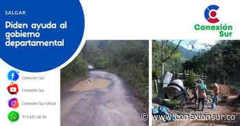 Comunidad de Salgar se une para mejorar vías rurales - ConexionSur