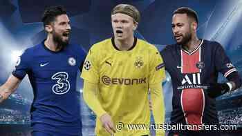 Die Top-Torjäger der Champions League - FussballTransfers.com