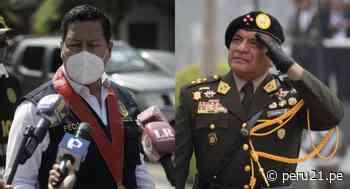 """Fiscal Omar Tello a general Astudillo: """"Allanamiento es regular y está amparado por el Poder Judicial"""" - Diario Perú21"""