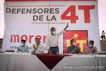 Raúl Morón se despega de Carlos Herrera Tello para la gubernatura - ContraMuro