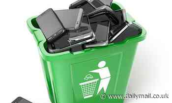 Old mobile phones could be collected as part of your recycling