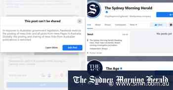 'Just deleted my account': readers respond to Facebook's news ban in Australia