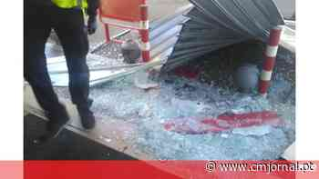 Bomba de combustível assaltada e vandalizada em Vila do Conde. Veja as imagens - Correio da Manhã